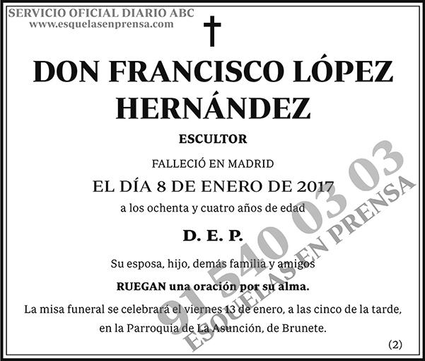 Francisco López Hernández